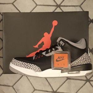Jordan 3 'black cements'